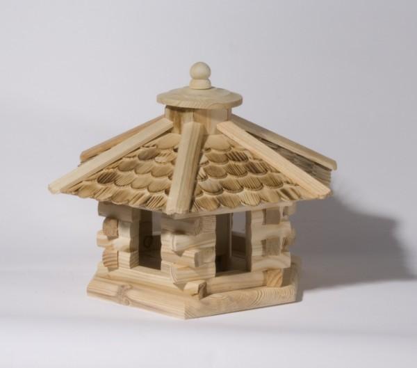 Vogelfutterhaus 6 Eck