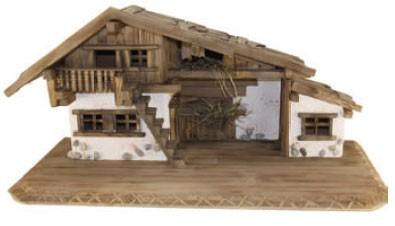 Krippenstall Bauernhaus