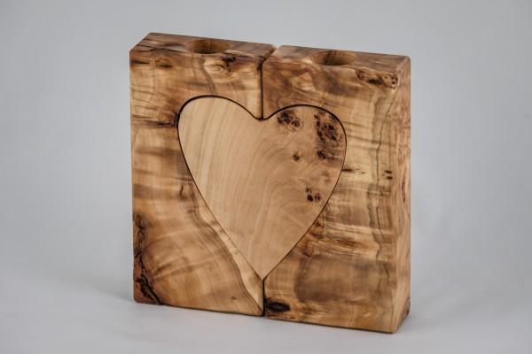 Herz Kerzenhalter 2