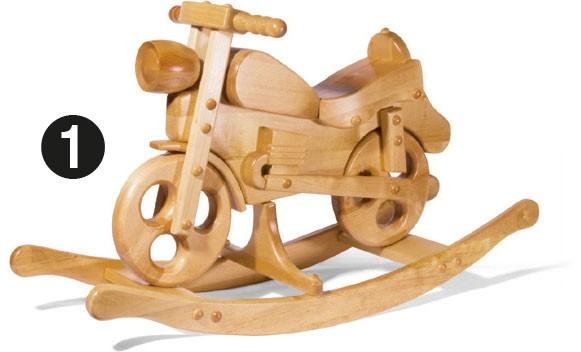 Schaukelmotorrad, klein