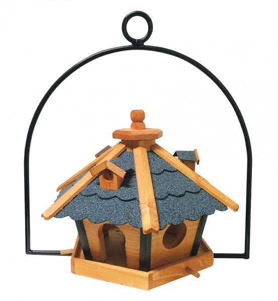 Vogelfutterhaus 6 Eck, hängend