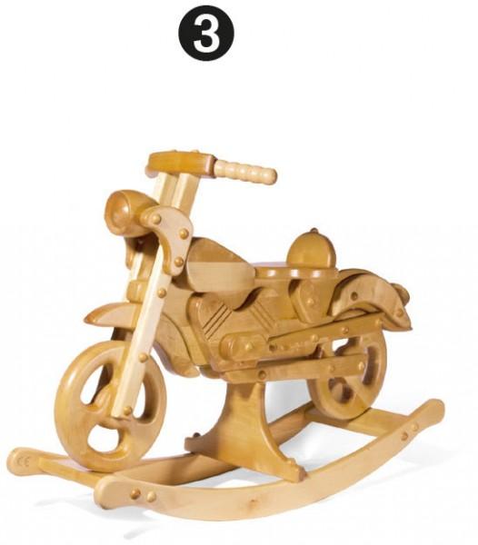 Schaukelmotorrad, groß