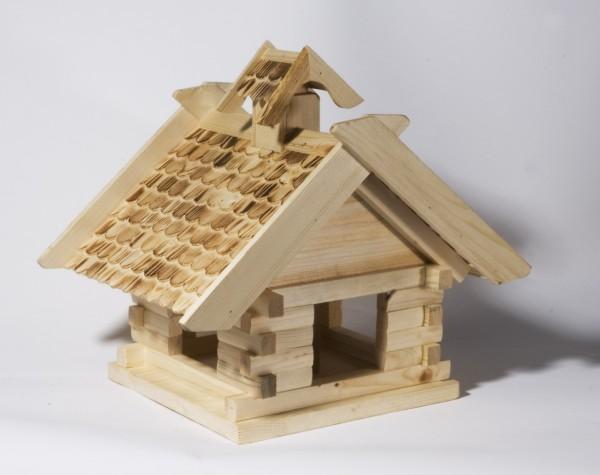 Vogelfutterhaus Blockhaus