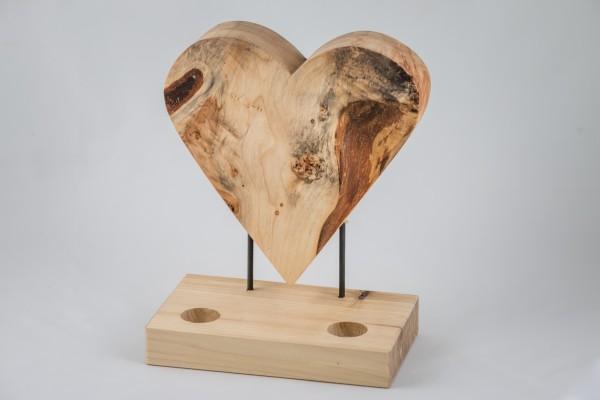 Herz Kerzenhalter 3